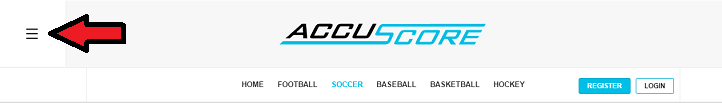 AccuScore Website navigation 3