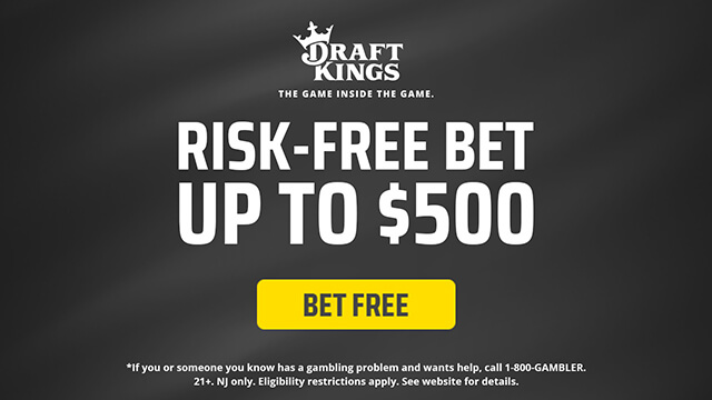 risk-free bet up to $500
