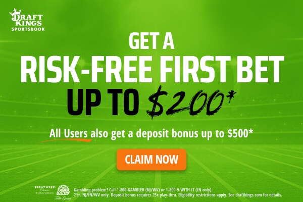 risk-free first bet up to $200